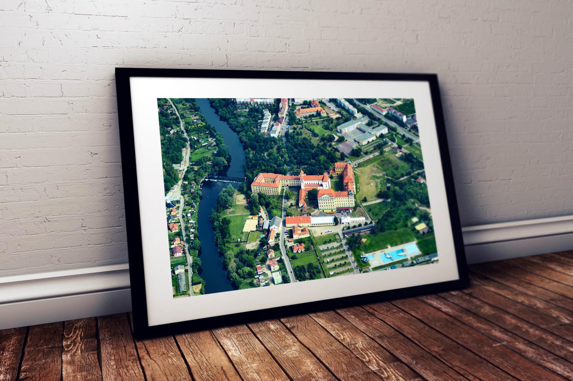 Adatto.cz letecké fotografie - Loucký klášter Znojmo