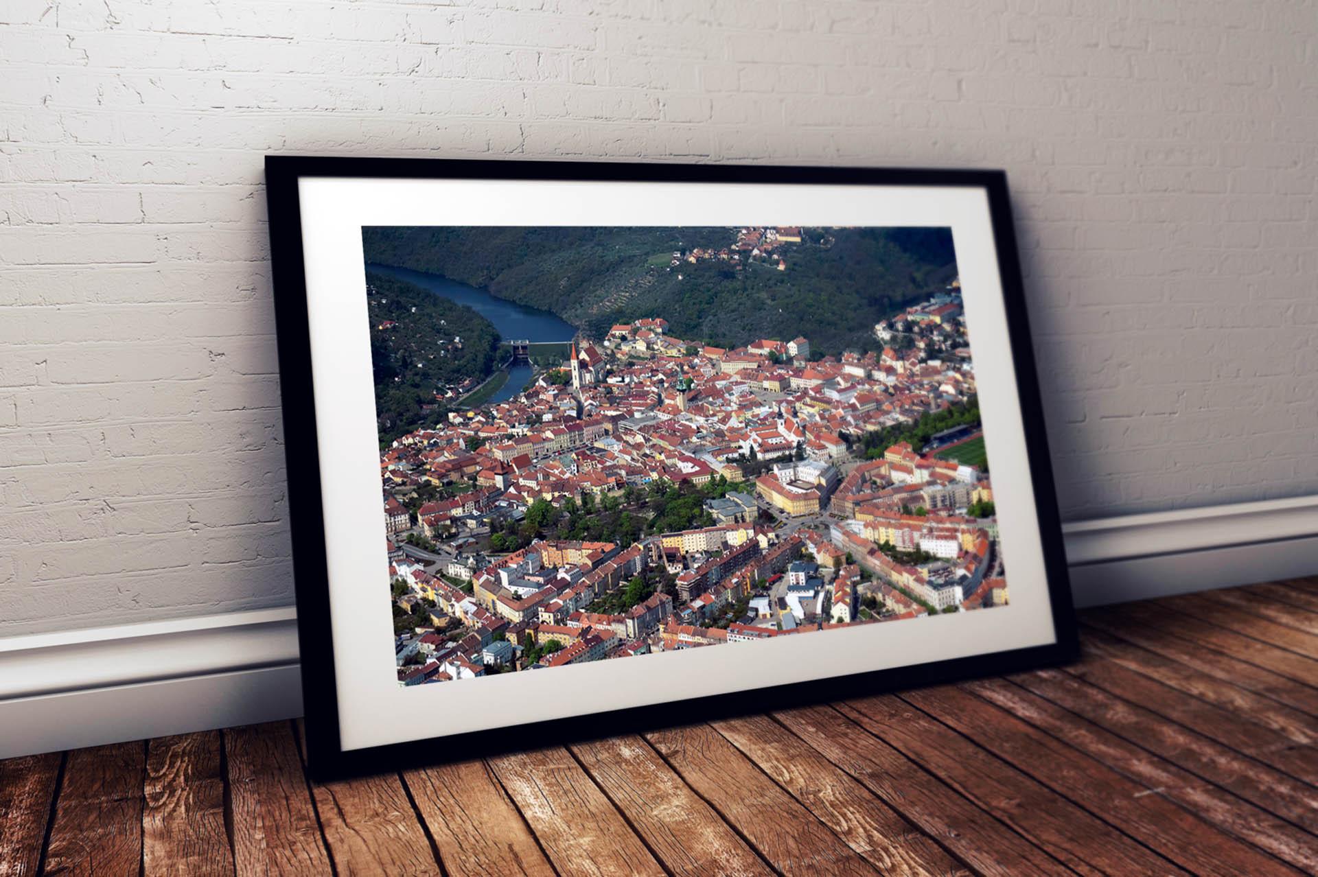 Adatto.cz, letecké fotografie - Znojmo