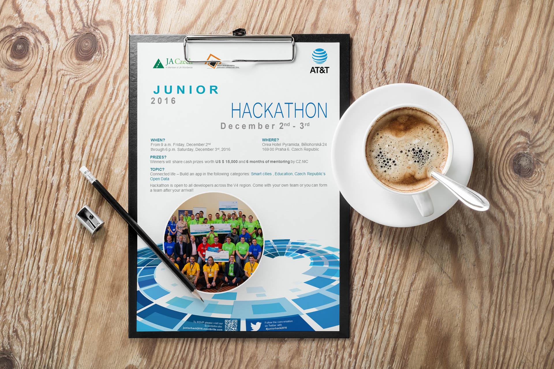Adatto.cz, grafika pro letáky - Junior Hackathon