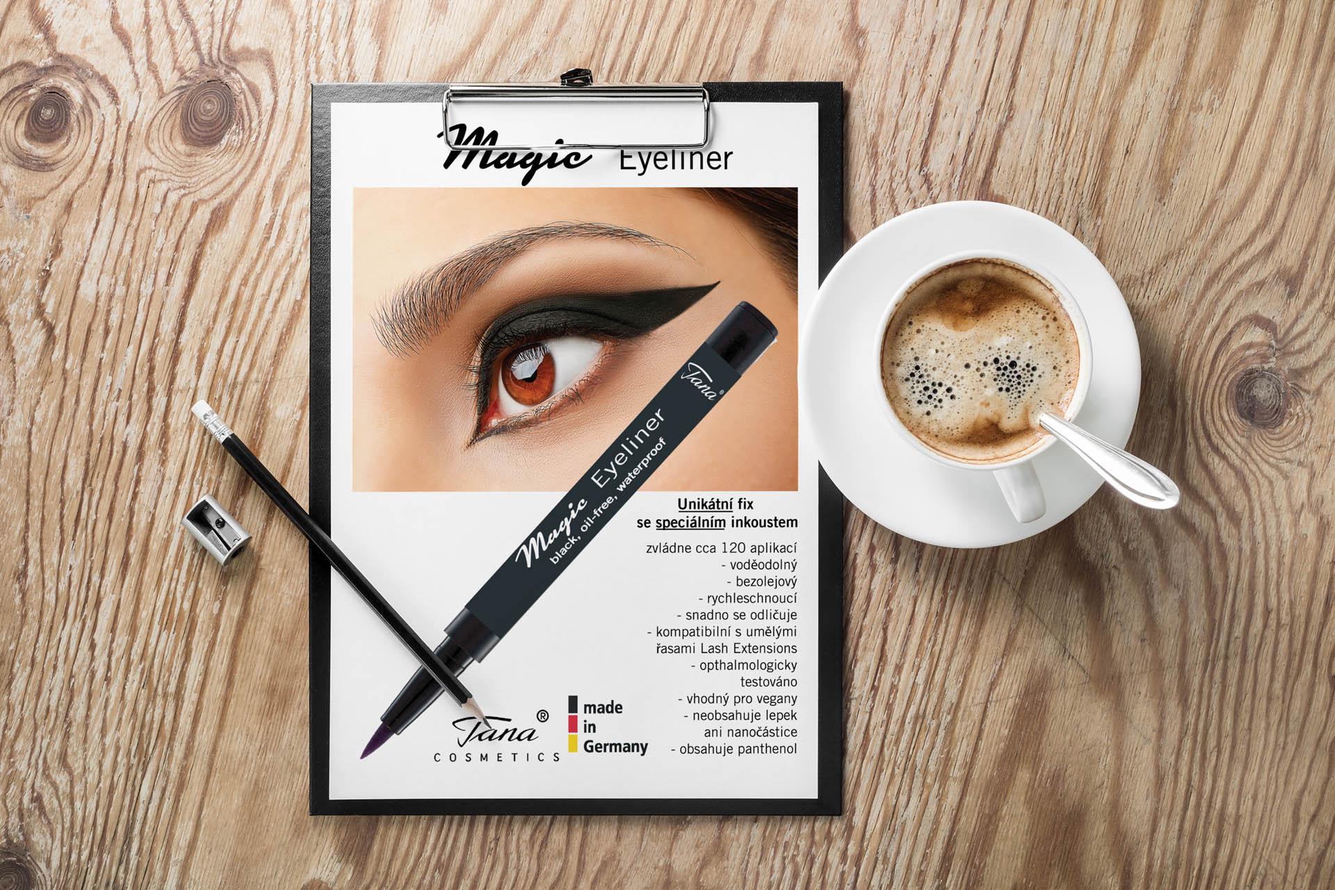 Adatto.cz, grafika pro letáky - TANA Cosmetics